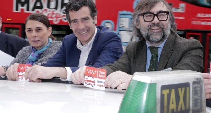 La Comunidad de Madrid imparte cursos de inglés a 500 taxistas para hacer una región 'English friendly'
