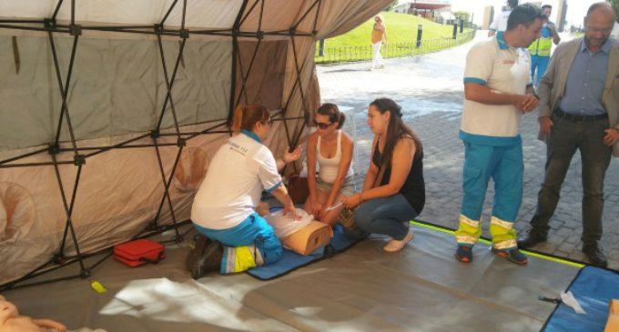 El SUMMA 112 forma a cerca de 1.400 personas en Reanimación Cardiopulmonar