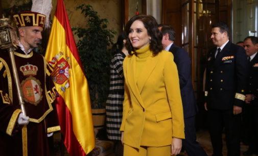 """Díaz Ayuso: la Carta Magna nos ha dado el mayor periodo de """"estabilidad, prosperidad y justicia social"""""""