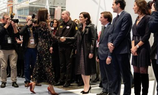 Díaz Ayuso acompañó a la S.M la Reina en la inauguración de la Feria Internacional de Turismo