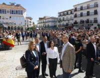 Díaz Ayuso acompaña a los Reyes en su visita a Arganda del Rey