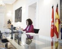 Díaz Ayuso rechaza el acuerdo de Sánchez con EH-Bildu para derogar la reforma laboral