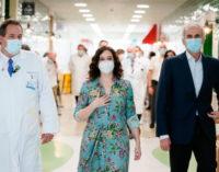 Díaz Ayuso ampliará el Hospital Infantil Niño Jesús con un pabellón de más de 9.000 metros cuadrados
