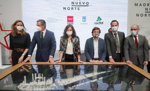 Díaz Ayuso anuncia que a principios de 2021 arrancarán las obras del gran Parque Central de Madrid Nuevo Norte