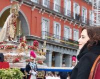 Díaz Ayuso asiste a la Misa Solemne de la festividad de la Almudena, patrona de Madrid