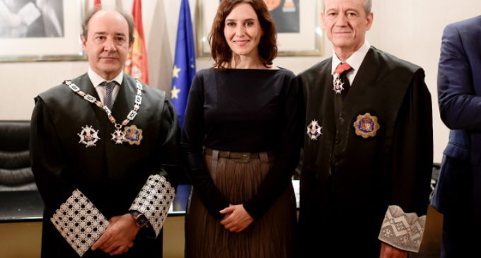 Díaz Ayuso asiste a la apertura del Año Judicial en la Comunidad de Madrid