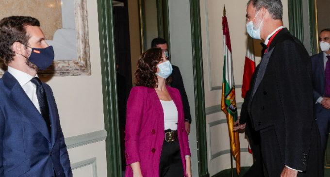 Díaz Ayuso asiste a la apertura del año judicial en el Tribunal Supremo presidida por Felipe VI