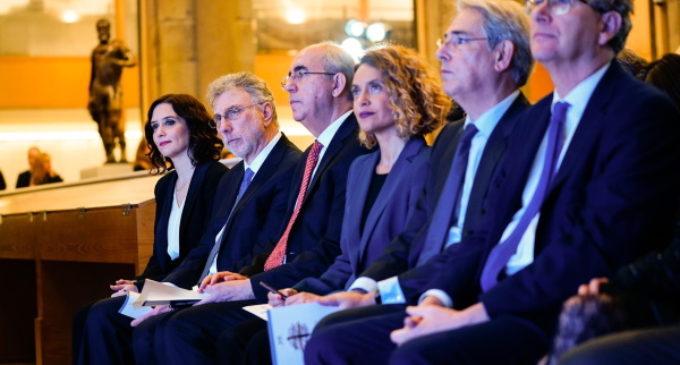 Díaz Ayuso asiste a los Premios Internacionales de Periodismo del diario El Mundo