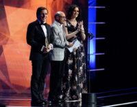 Díaz Ayuso, con el cine y la cultura marca España en los XXV Premios José María Forqué
