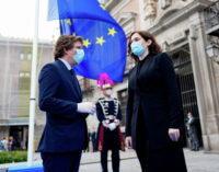 Díaz Ayuso conmemora el Día de Europa coincidiendo con el 70º aniversario del punto de partida de la UE