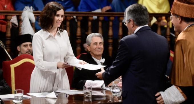 Díaz Ayuso defiende atraer el talento internacional a la Comunidad de Madrid para reforzarla como capital mundial del español
