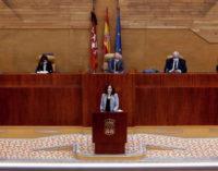 """Díaz Ayuso sobre su gestión del COVID-19: """"Madrid despertó a España, actuó antes que nadie"""""""