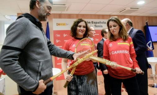 Díaz Ayuso destaca el compromiso del Gobierno regional para extender los valores del deporte a todos los madrileños
