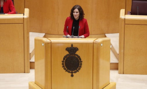 Díaz Ayuso pide una mesa bilateral entre la Comunidad de Madrid y el Gobierno para diseñar la estrategia de desescalada por el COVID-19