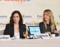 Díaz Ayuso propone una plataforma de empresas catalanas y madrileñas para atraer inversión extranjera