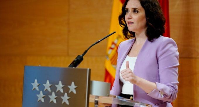 """Díaz Ayuso, a Sánchez: """"¿Puede asegurarme que no bloqueará el pedido con material sanitario de la Comunidad de Madrid preparado en Shangai?"""""""