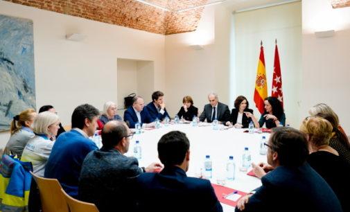 Díaz Ayuso se reúne con el Comité de Expertos del Nuevo Coronavirus de la Comunidad de Madrid