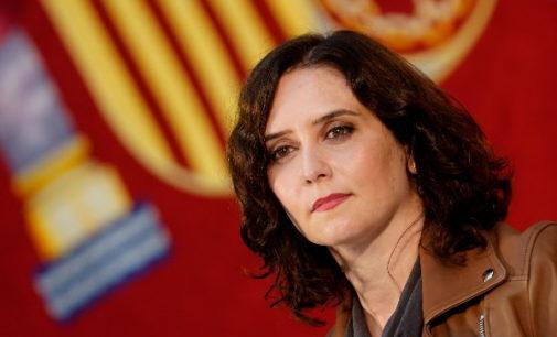 Carta enviada por la presidenta de la Comunidad de Madrid al presidente del Gobierno de España, Pedro Sánchez.