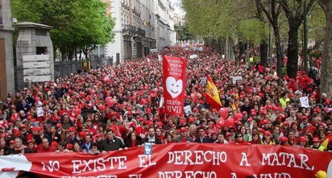 Derecho a Vivir convoca la VII Marcha por la Vida para el próximo 18 de junio