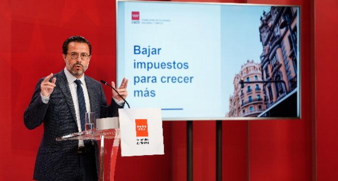 La Comunidad de Madrid defiende la autonomía fiscal por sus efectos positivos en la economía y el empleo de toda España