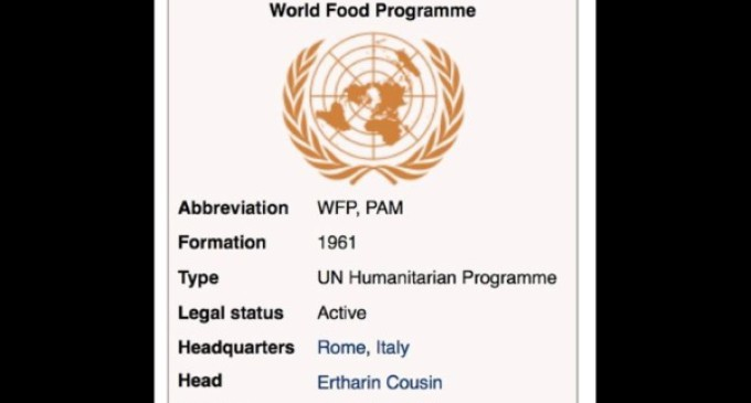 Francisco visitará el 13 de junio el Programa Mundial de Alimentos en Roma