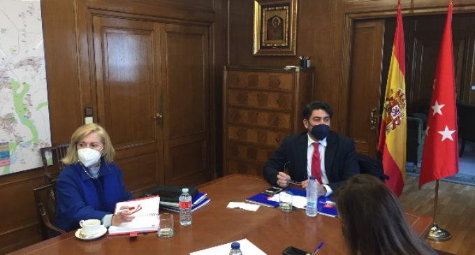 David Pérez, consejero de Vivienda y Administración Local, nuevo presidente de Metro de Madrid