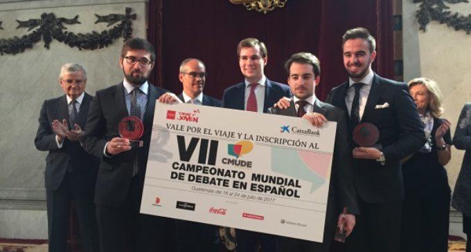 Los estudiantes de la Universidad Pontificia de Comillas ganan el I Torneo de Debate Universitario de la Comunidad