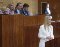 Cifuentes anuncia la emisión de bonos sociales y tarifa de 4 euros del agua para las pensiones no contributivas