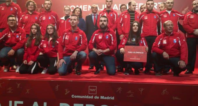 La Comunidad galardona a los deportistas madrileños por sus éxitos logrados durante la temporada 2014/15