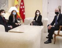 Díaz Ayuso agradece el compromiso de los universitarios con el voluntariado