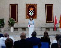 Díaz Ayuso celebra la proclamación de Nuevo Baztán como uno de los pueblos más bonitos de España