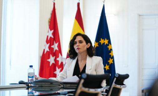 Díaz Ayuso defiende ante la UE el modelo de libertad educativa de Madrid
