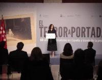 """Díaz Ayuso en una exposición sobre terrorismo: """"Estamos en el lado correcto de la historia. Contémosla así a las nuevas generaciones"""""""