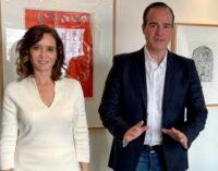 Díaz Ayuso estudia la colaboración con el Banco Interamericano de Desarrollo para intercambio empresarial entre Montevideo, Miami y Madrid