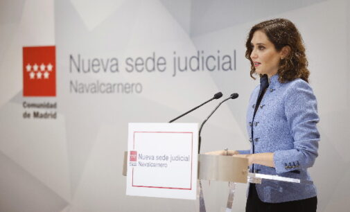 """Díaz Ayuso sobre su confrontación con Sánchez: """"Si le parece le doy un abrazo o las gracias por su trabajo en la Comunidad"""""""
