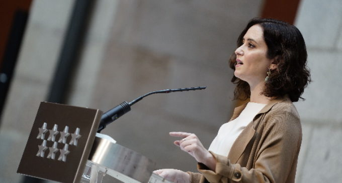 """Díaz Ayuso manifiesta su """"decepción y hartazgo"""" con el Gobierno y el presidente Sánchez: """"Solo aparece para hacer propaganda y todo le da igual"""""""
