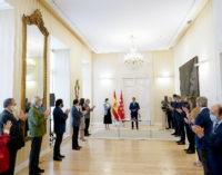 Díaz Ayuso preside la toma de posesión de Javier Luengo como consejero de Políticas Sociales, Familias, Igualdad y Natalidad