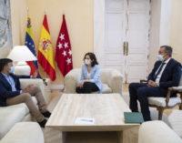 Díaz Ayuso recibe a Leopoldo López para analizar la situación de Venezuela