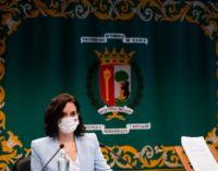 """Díaz Ayuso reivindica una universidad """"valiente e inconformista"""" para """"plantar cara a los atropellos contra las libertades"""""""