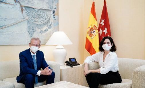 Díaz Ayuso se reúne con Caballero Klink para hacer balance de su paso por la Fiscalía Superior de Madrid