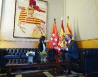 Díaz Ayuso se reúne con Lambán en Zaragoza para abordar la situación del COVID-19 y el reparto de los fondos europeos