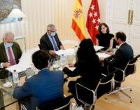 Díaz Ayuso se reúne con el alcalde de Guadarrama para abordar futuros proyectos en el municipio