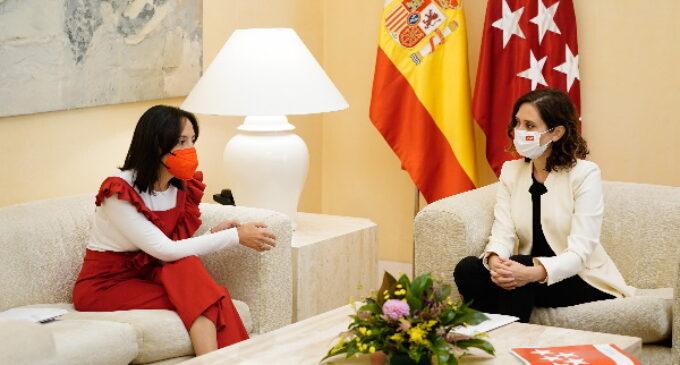 Díaz Ayuso se reúne con la delegada del Gobierno en Madrid para abordar la gestión de asuntos comunes
