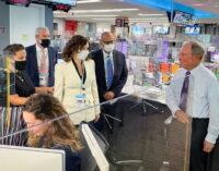 Díaz Ayuso se reúne con los responsables de Bloomberg, interesados por la gestión de la Comunidad de Madrid con el COVID-19
