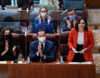 """Díaz Ayuso critica que el ministro de Universidades pida ahora que los exámenes sean online cuando """"ha estado de vacaciones"""""""