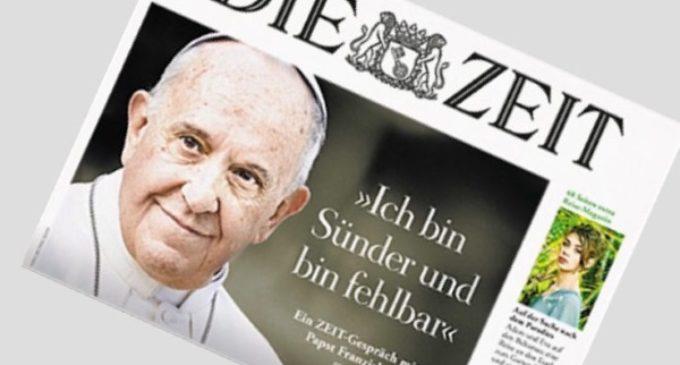 Entrevista de Francisco a Die Zeit: Los populismos son mesiánicos y terminan mal, lo demuestra el siglo pasado