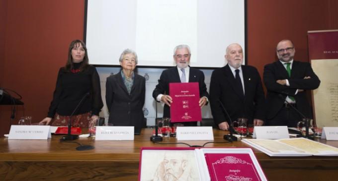 Dionisio Redondo recopila los manuscritos de Miguel de Cervantes en el IV Centenario de su muerte