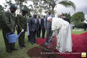 Discurso del Papa en la Onu en Kenia 1