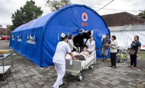 Indonesia: Voluntarios de Caritas trabajan en el área afectada por los terremotos