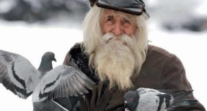 Dobri Dobrev, mendigo y uno de los donantes más generoso de la Iglesia ortodoxa búlgara